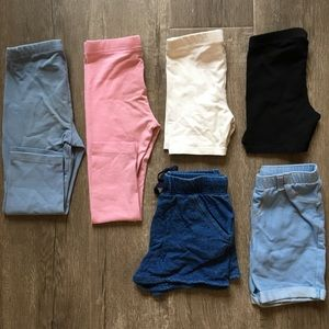 Assorted Girl's Bottoms (4T)